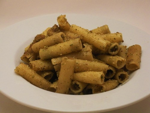 Walnut Sage Pesto Pasta-Duo Dishes