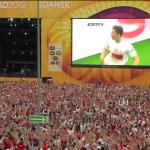 Pierwszy gol Roberta Lewandowskiego w meczu Polska-Grecja