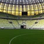 Zwiedzanie bursztynowego stadionu w Gdańsku
