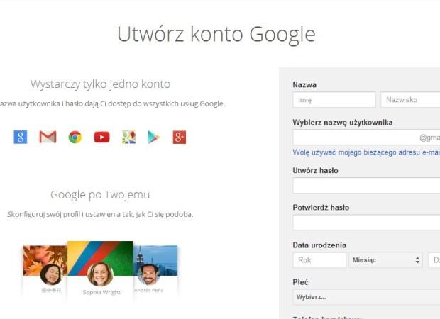Jak założyć konto na Google Plus