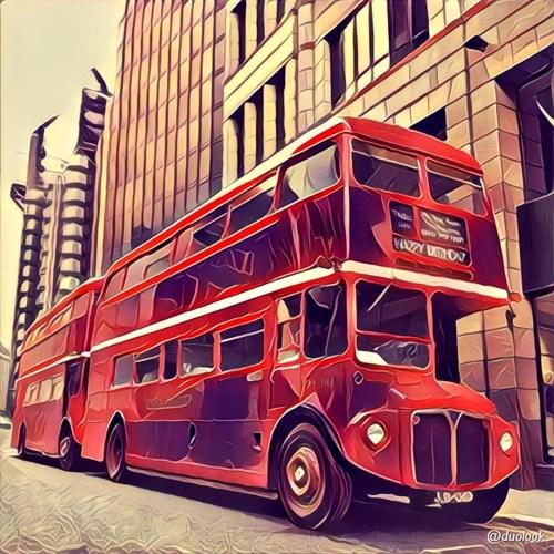 londyn routemaster autobus