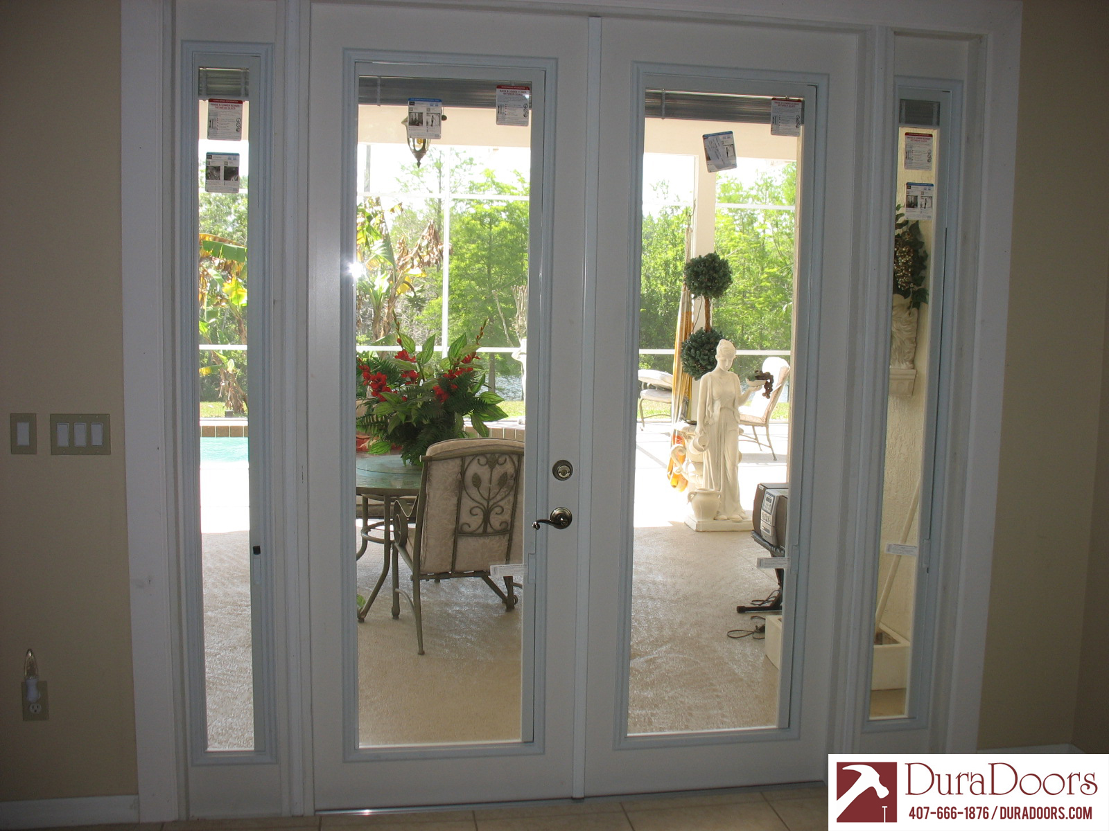 Divine This Customer Had Us Replace Ir Sliding Glass Doors Withfrench Y Selected Plastpro French Doors Odl French Doors Odl Enclosed Blinds Duradoors houzz-03 French Doors With Blinds