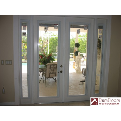 Medium Crop Of French Doors With Blinds