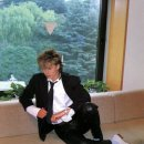 Pensive John in Japan