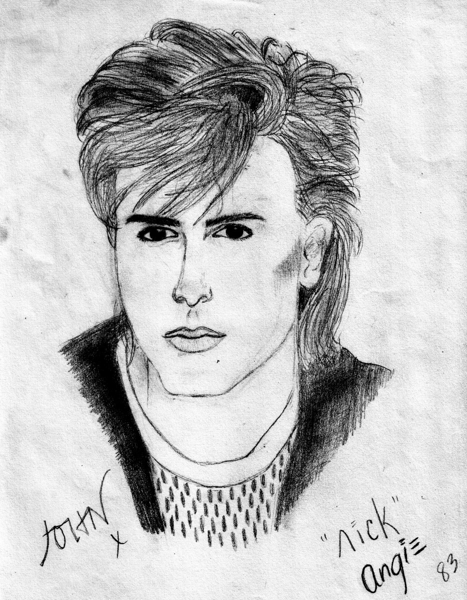 John Taylor portrait circa 1983