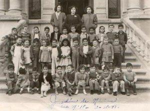 Fotografía antigua en el Museo del Aguacate