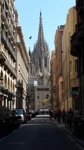Gotik mahalle- Barselona katedrali