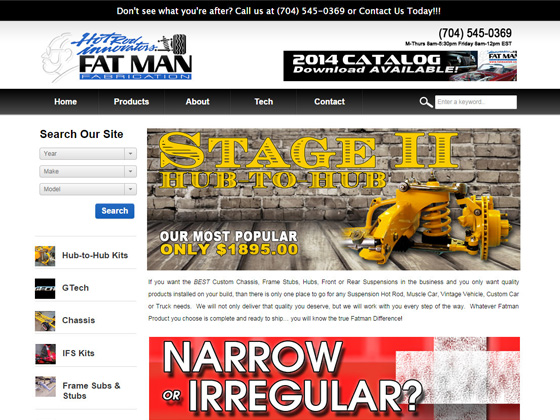 Fatman Fabrications - Home Page Theme