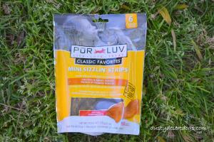 Pur Luv Sizzlin Strips Chicken & Sweet Potato Treats for Dogs
