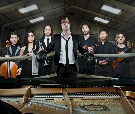 Ben Folds & yMusic (Photo courtesy of Webster Media)