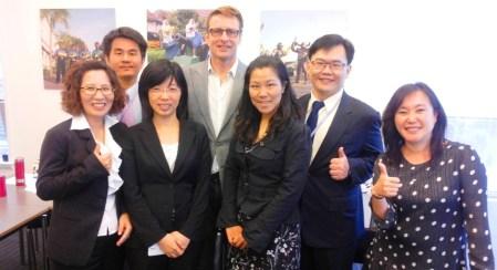 Taiwan Delegation to Netherlands june 2014
