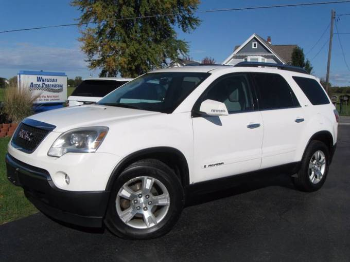 2008 GMC Acadia SLT 1 In Frankenmuth MI   Wholesale Auto Purchasing 2008 GMC Acadia for sale at Wholesale Auto Purchasing in Frankenmuth MI