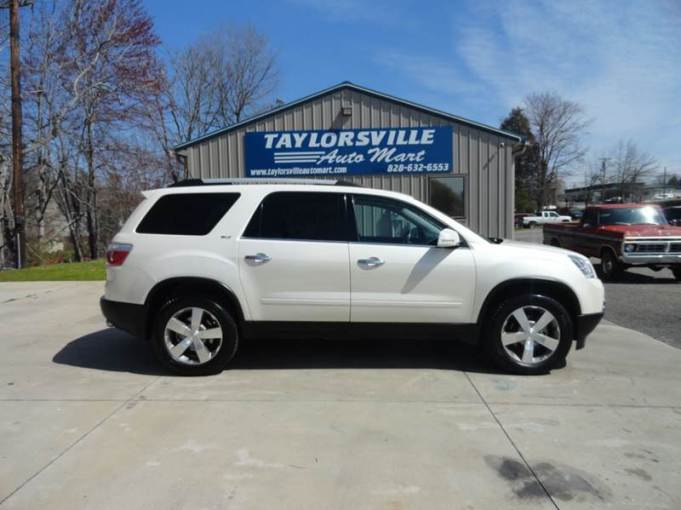 2011 Gmc Acadia SLT 1 4dr SUV In Taylorsville NC   Taylorsville Auto     2011 GMC Acadia SLT 1 4dr SUV   Taylorsville NC