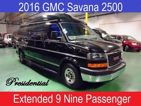 Used Aluminum Boats For Sale Phoenix Used Vans For Sale Cashion     2016 GMC Savana Passenger