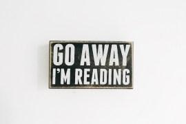 meus itens literários de decoração