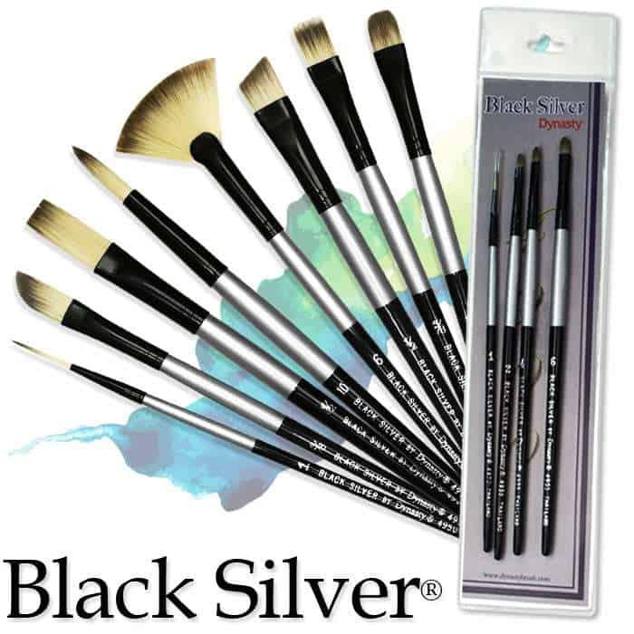 Black Silver Short Handle by Dynasty