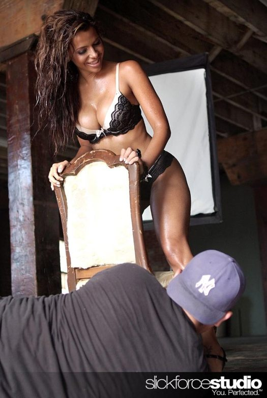 Behind the Scenes Exclusives of Vida Guerra - courtesy of SlickforceStudio