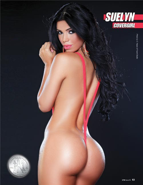 Suelyn in newest issue of Dimepiece Magazine - courtesy of Facet Studio