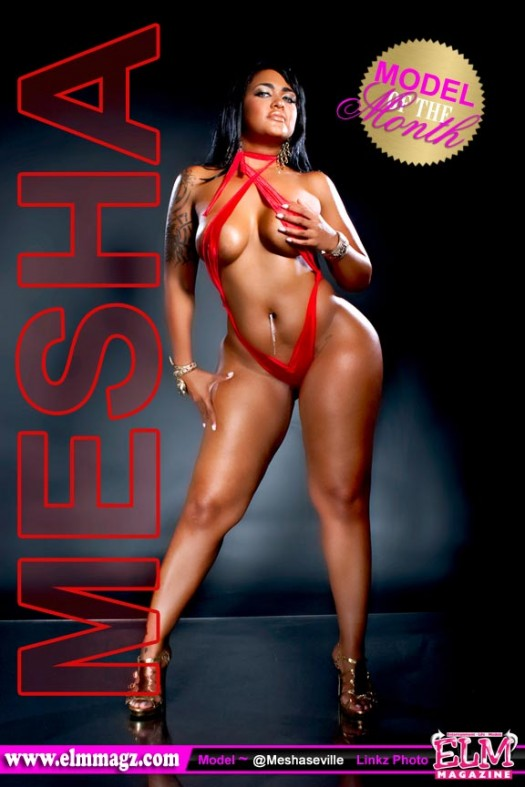 Mesha Seville is Elm Magazine Model of the Month