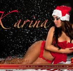DynastySeries Christmas - More Pics of Karina Lopez: Christmas Candy - courtesy of Frank D Photo