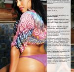 Keani Cochelle in Premiere Issue of DreamGirls Magazine