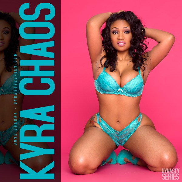 Kyra Chaos @kyrachaos in DynastySeries Edition of Straight Stuntin - Jose Guerra