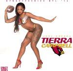 Tierra Campbell @RealTierra : NFL Bodypaint 2014 – Arizona Cardinals – Jose Guerra