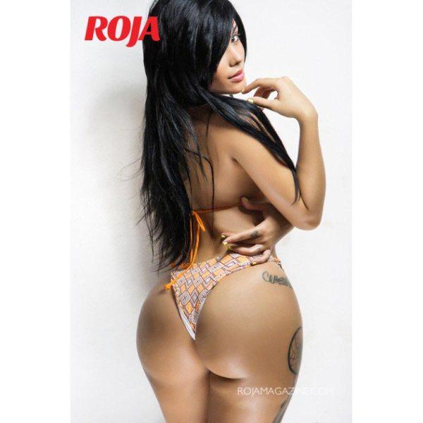 Johamsy Tejada in Roja Magazine - Algis Infante