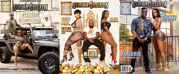 Aruba Spice in Straight Stuntin Magazine #45