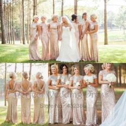 Small Crop Of Sequin Bridesmaid Dresses
