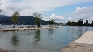 Annecy, jezioro