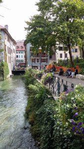 Annecy, kanał