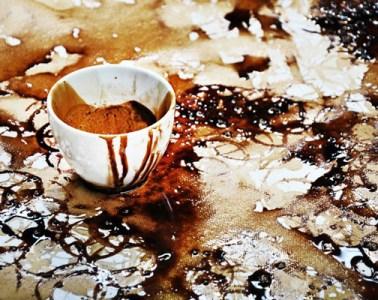hongredyijaychoucoffeestainportrait