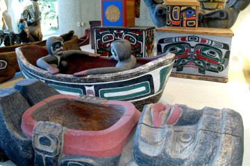 Paradise Haida imagery that inspired George Nuku