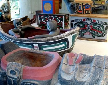 Paradise Haida imagery that inspired George Nuku