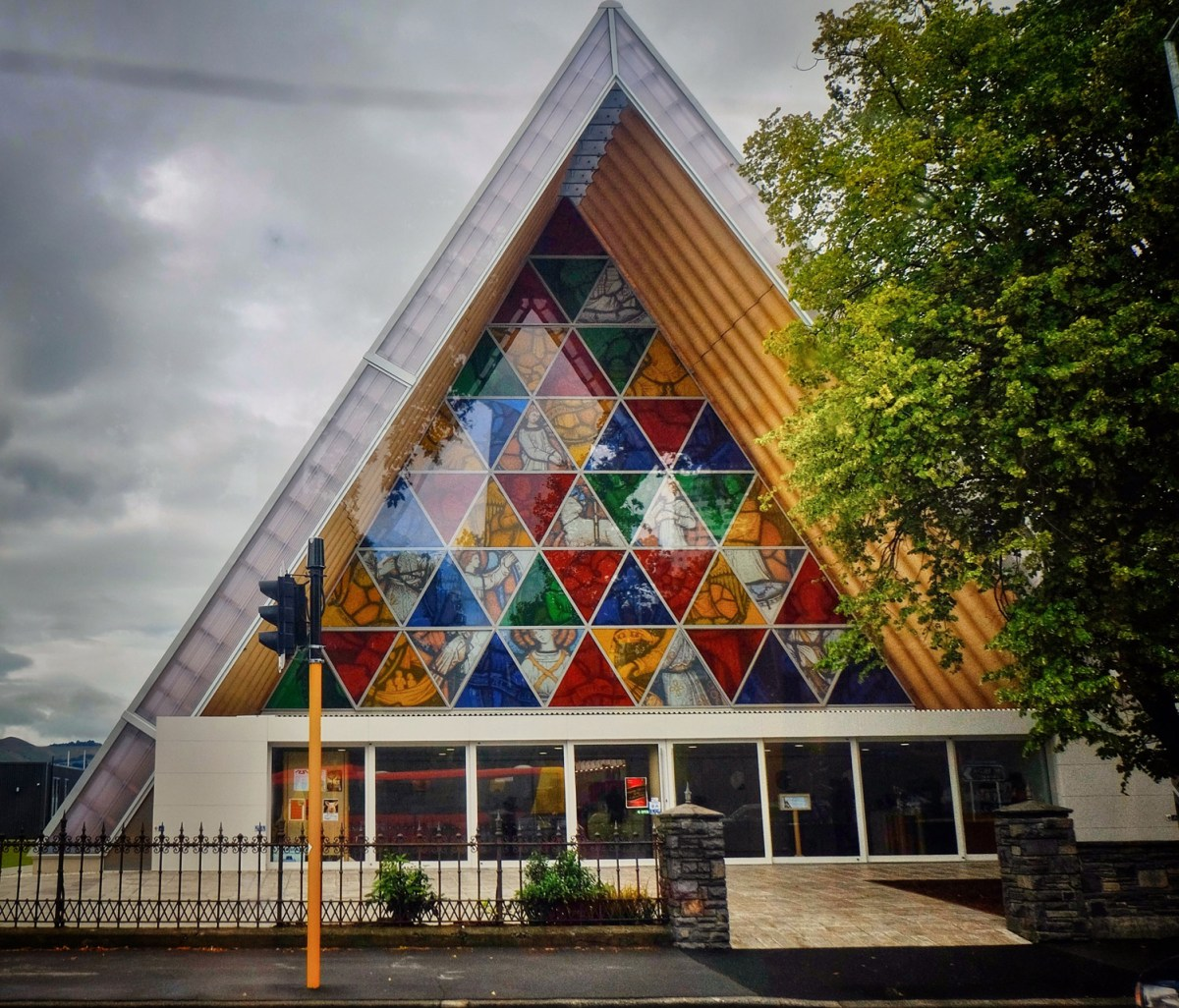 Cardboard Cathedral by Japanese architect Shigeru Ban - 08