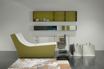 Cuna bathtub designed by Italian architect Carlo Colombo - 03