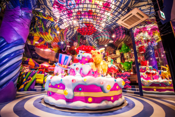 Kawaii Monster Cafe in Japan by Artist Sebastian Masuda - 01