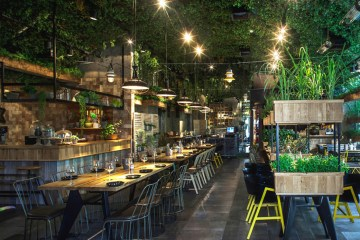 Segev Kitchen Garden Restaurant in Israel by Studio Yaron Tal