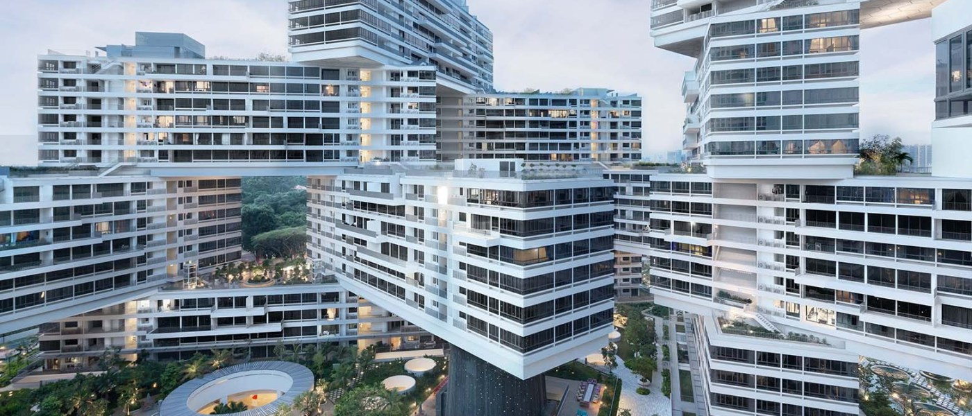 The Interlace in Singapore by OMA and Ole Scheeren - 01