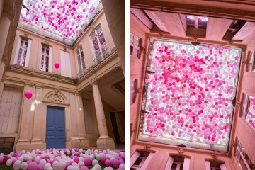 The Tenth Spring Installation at the Festival des Architectures Vives in France - 01