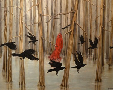 Trace Yeomans - DREAM OF RAVENS-web