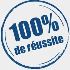 100% réussite