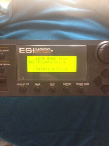 E-Mu Systems ESI 4000 Digital Sampler