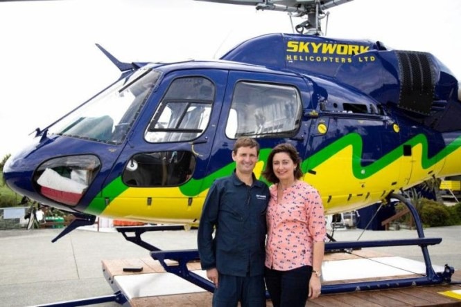 Skywork co-founders and owners, Roger and Miriam Stevenson.