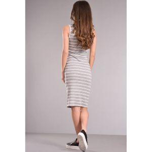 Φόρεμα με φερμουάρ αμάνικο ριγέ_02