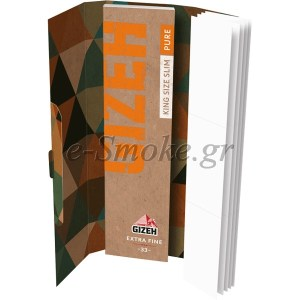 Gizeh Pure King Size Slim με Τζιβάνα