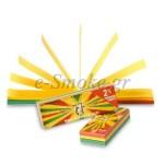 Τζιβάνες Jaja Filter Tips booklet Rasta (διάτρητες)