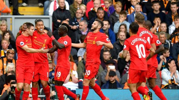 Liverpool can be considered one of the most entertaining teams in the Premier League so far this season