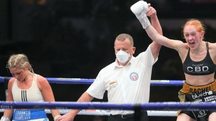 Rachel Ball sealed a points win over Shannon Courtenay in August